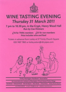 wine club 2011 flyer